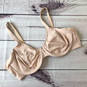 Bali Nude Lined Underwire Bra 42C